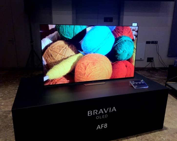 TV Sony AF8 OLED 4K 2018