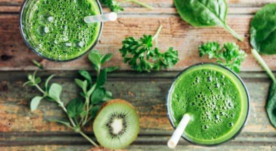4 рецепта зеленых смузи: стройность, иммунитет и сияние