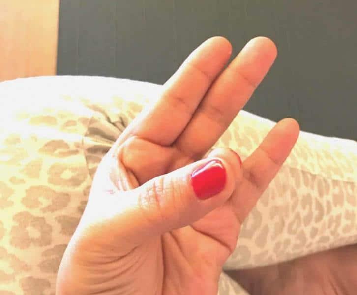fingeryoga - übung