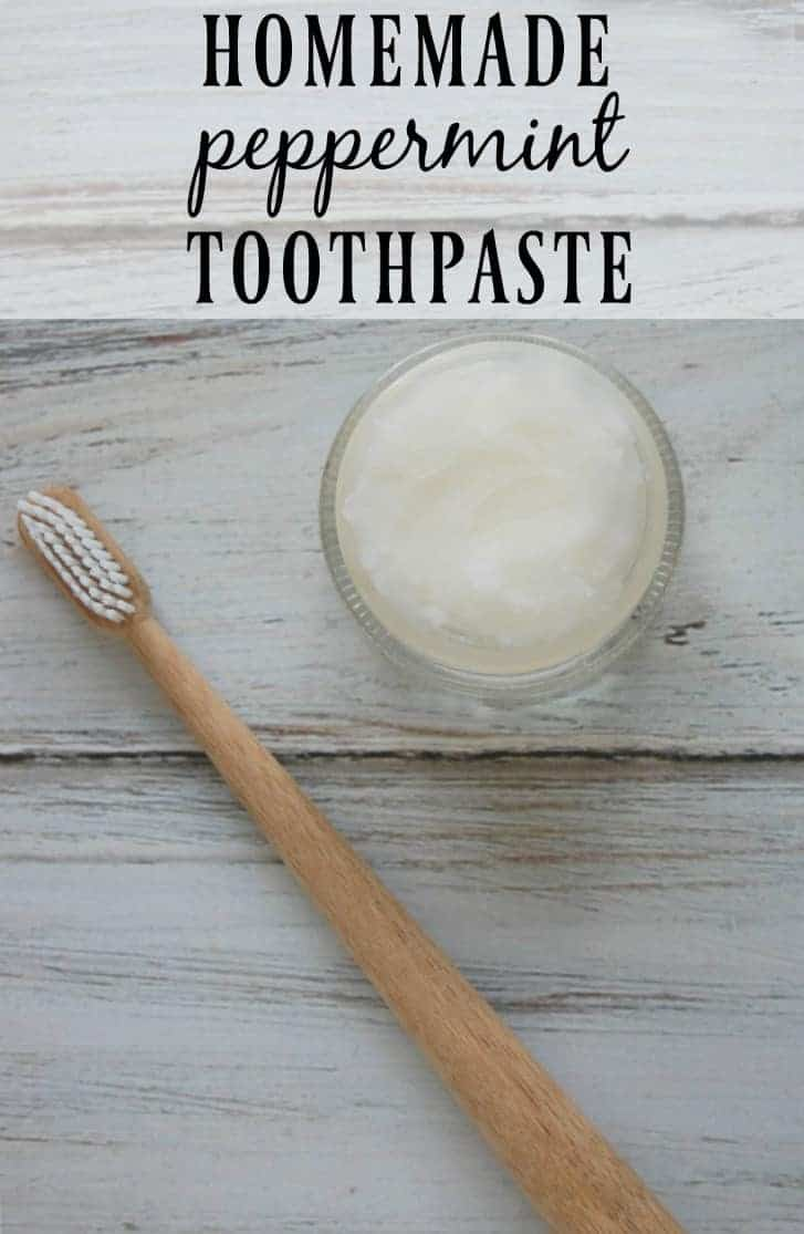Homemade Peppermint Toothpaste - This toothpaste is easy to make, inexpensive, and contains only helpful ingredients; no more toxins! #homemade #toothpaste #oralcare #peppermint #greenbeauty