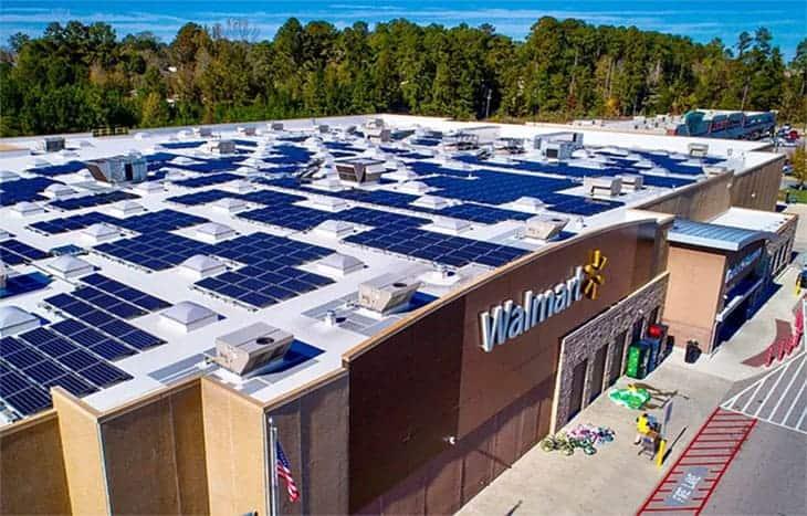 Walmart Renewable Energy Solar