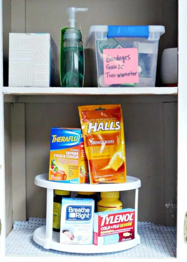 Medicine Cabinet Organization Tips Crafty Little Gnome