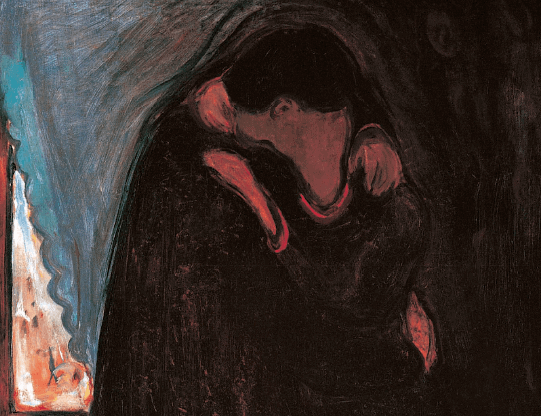 Edvard Munch, The Kiss