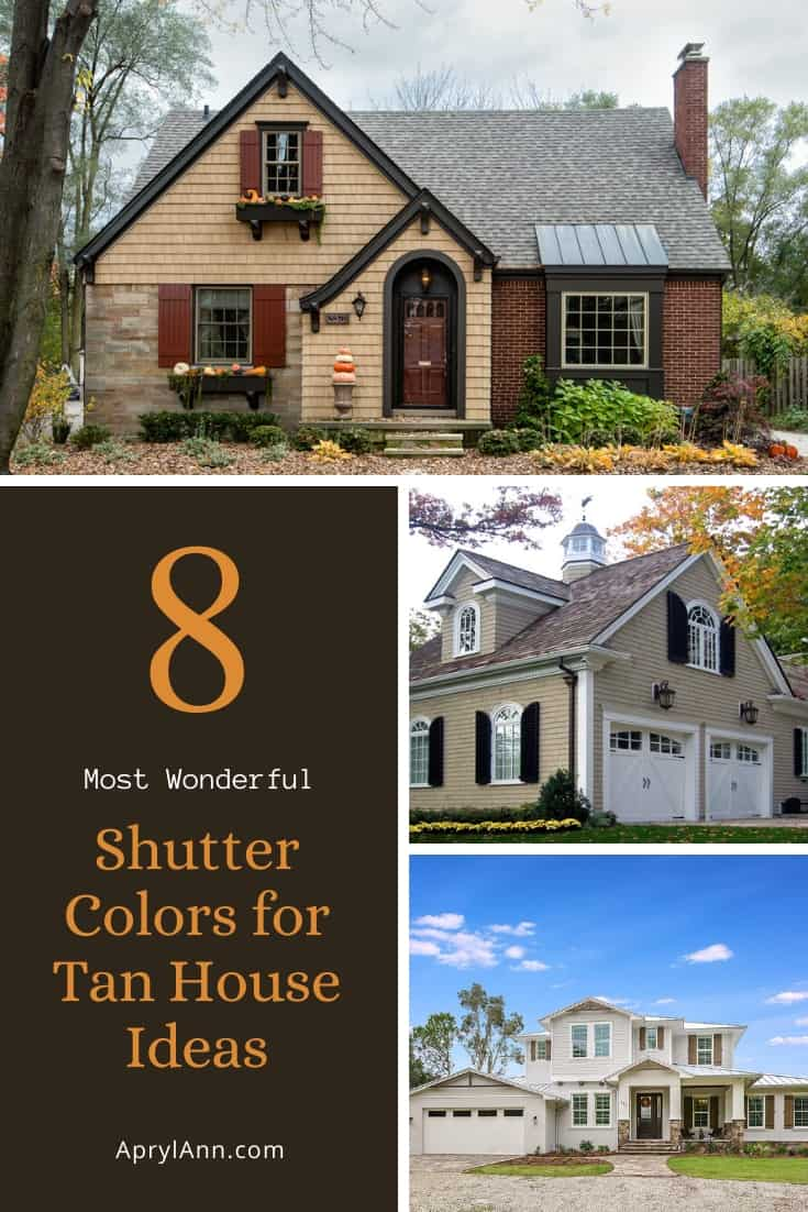 Shutter Colors For Tan House