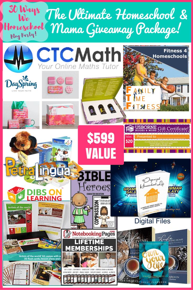 30 Ways we homeschool mama package