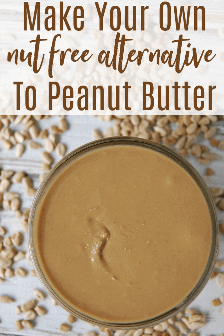 If you need a delicious nut free alternative to peanut butter then sunbutter is where it's at! This great alternative to peanut butter made with sunflower seeds! Learn how to make sunbutter because homemade costs half the price of store bought! #sunbutter #diy #homemade #nutfree #allergyfriendly #peanutbutter #alternative