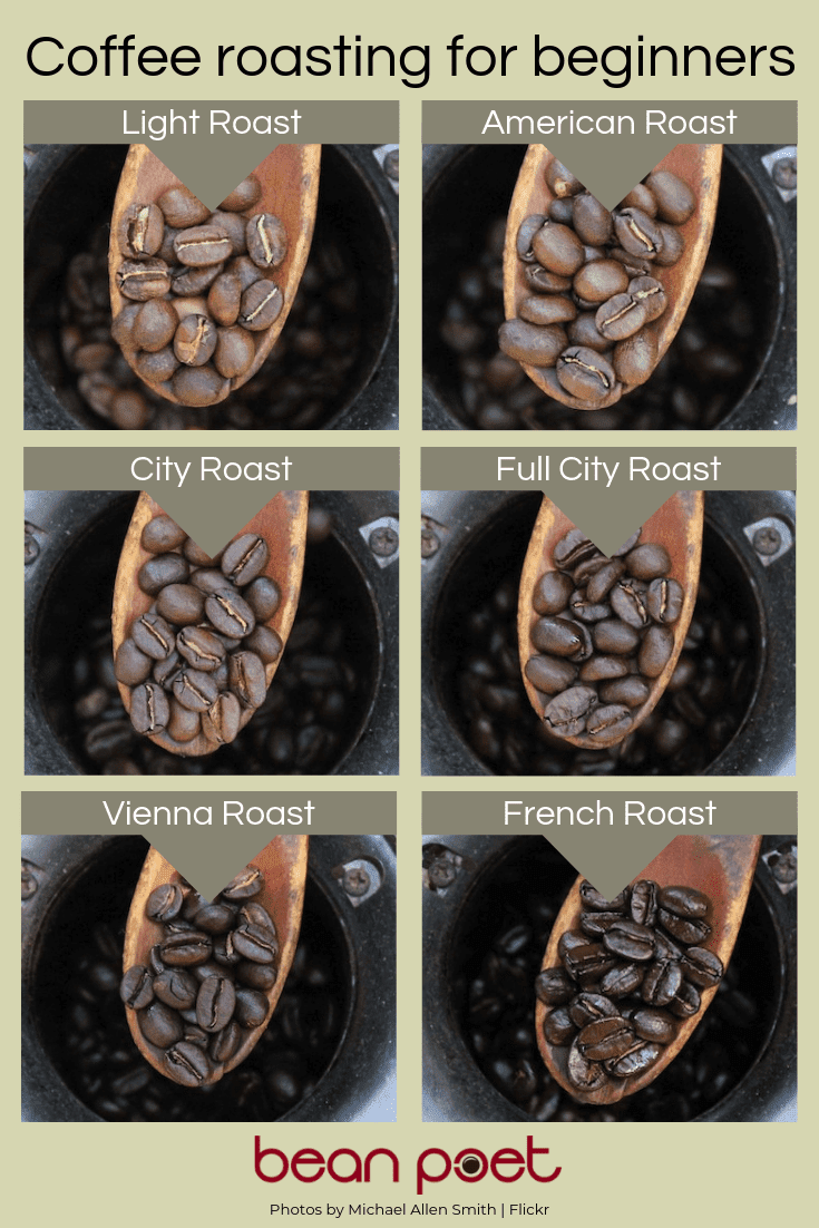Coffee roasting for beginners graphic