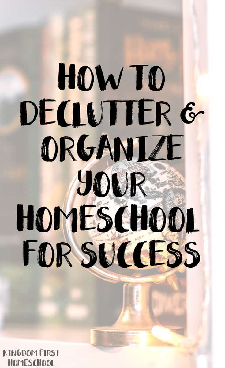 Homeschoolers often juggle multiple children, many books, and busy schedules. But even with all of this craziness, you can still organize your homeschool with the right system in place. Are you ready to tackle the clutter and organize YOUR homeschool?