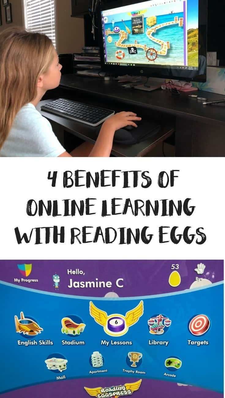 Find out why I love Reading Eggs for Extra Reading, Phonics, spelling and even Math practice and other key benefits for online learning with Reading Eggs.