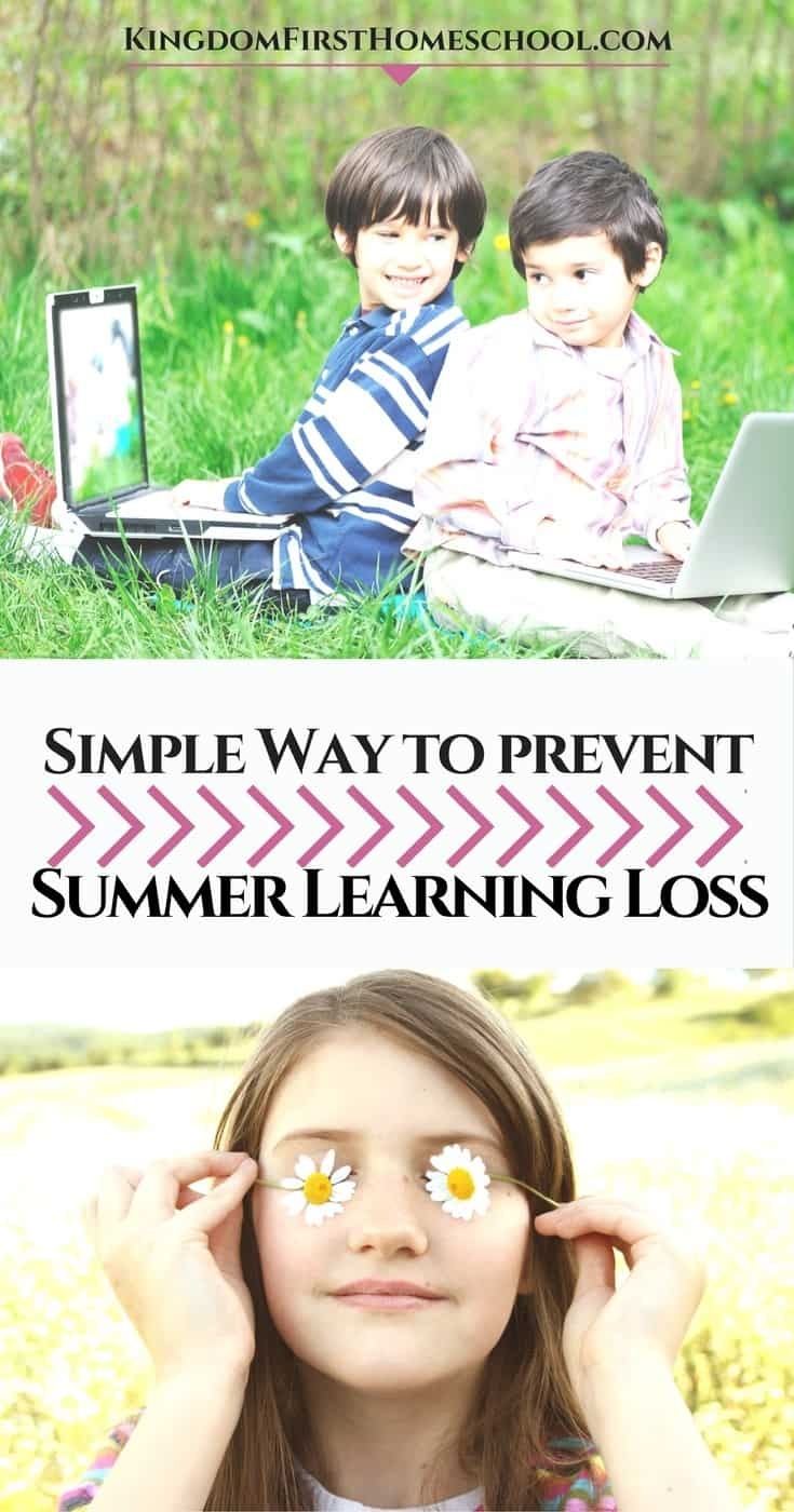 Along with all the family fun this summer I find it important to keep the learning going. I never really believed the whole Summer Learning Loss thing until I became a homeschool mom and experienced it for myself. So with that lesson learned, thankfully early on, now I make sure to schedule some learning time in. I try to make sure it's fun, relaxed and easy though. No busy table work. (yuck) This is what we do.