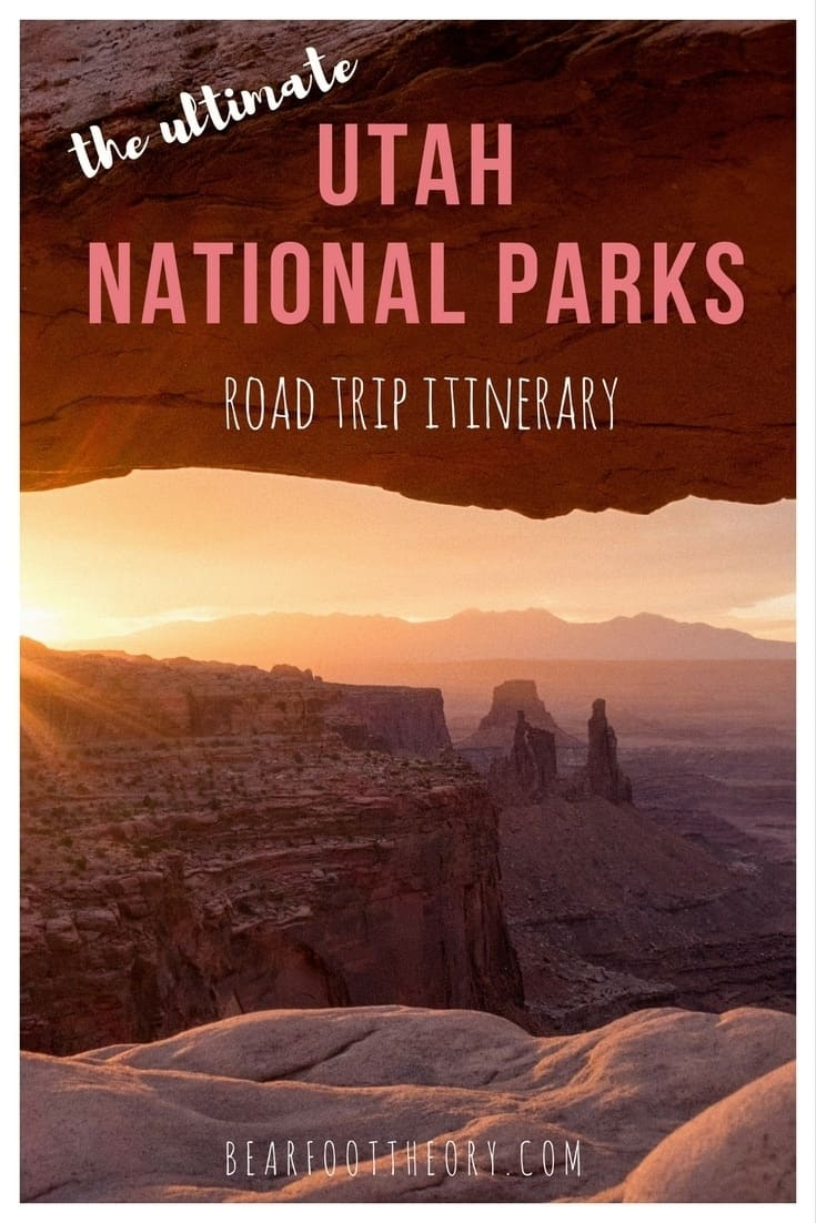 Plan an epic trip to Utah's Mighty 5 with this 10-day Utah National Parks road trip itinerary w/ tips on the best hikes, activities, camping & more.