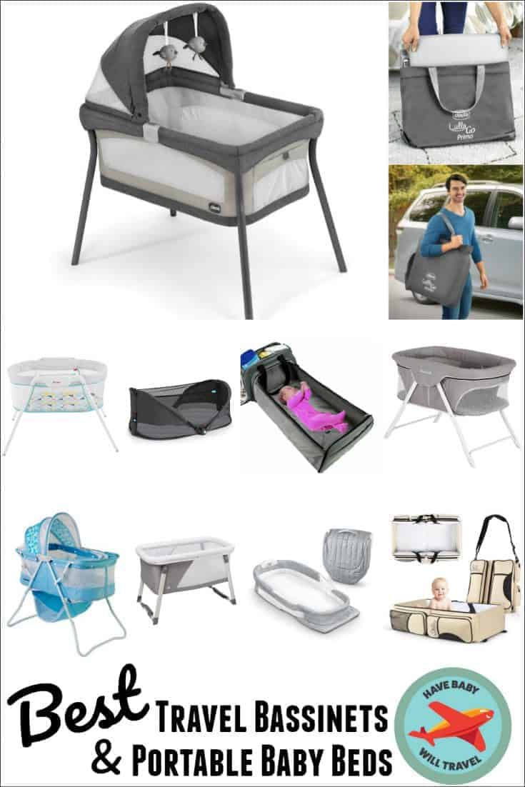 Best Travel Bassinet & Portable Baby Bed Options