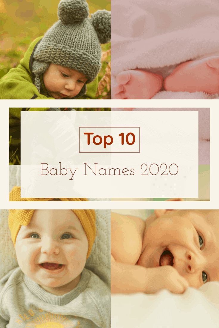 Top Baby Names 2020 - And I know some of you might be saying that you don't want to pick a baby name that is the most popular either. Plenty of you probably would like a unique baby name or something that stands out.