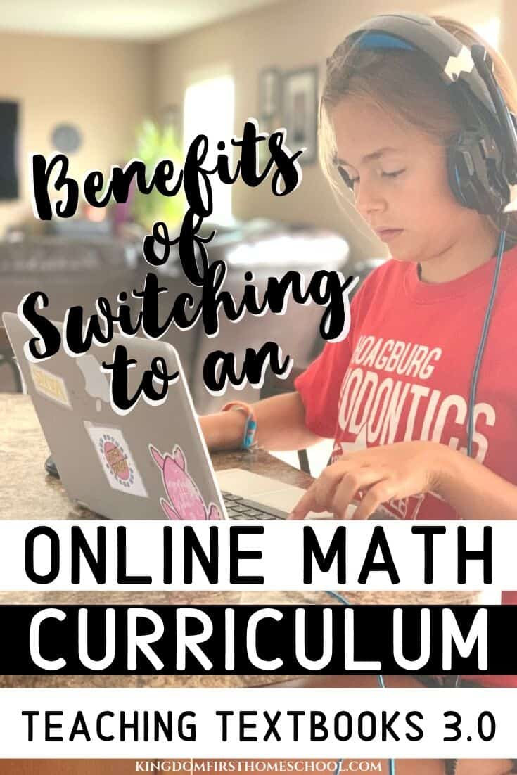Are you looking for the perfect online math curriculum for you and your kids? Here's why I think Teaching Textbooks 3.0 is worth a try.