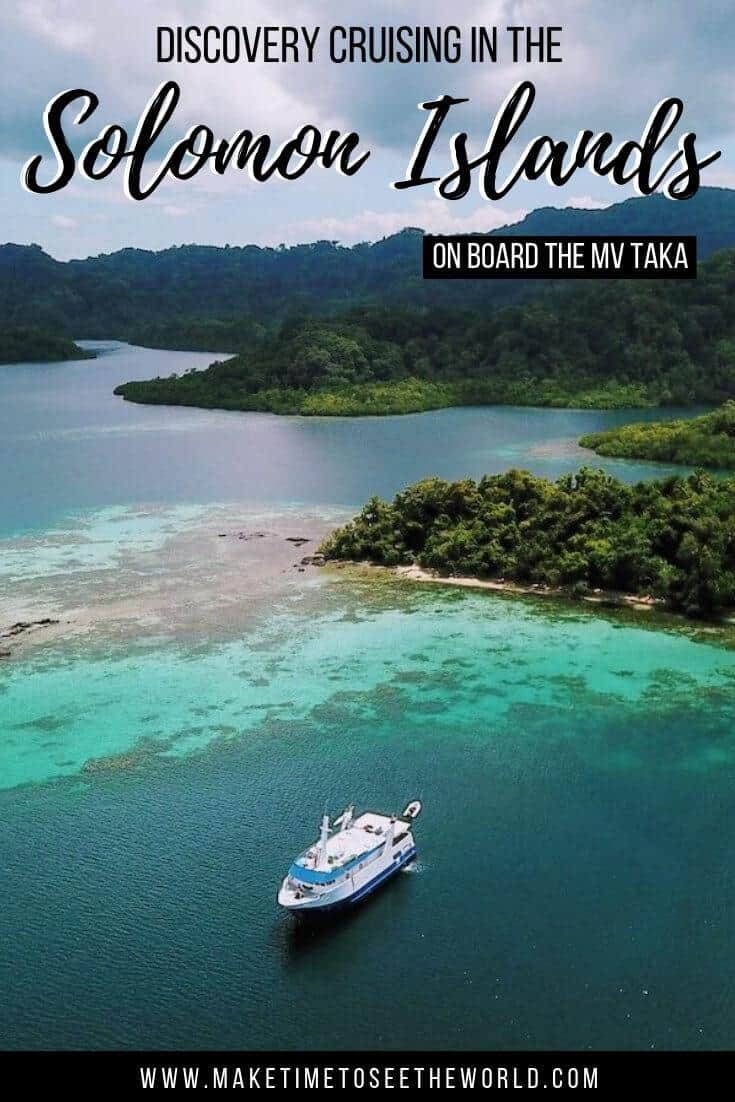 Solomon Islands Holiday on board a Solomon Islands Discovery Cruise