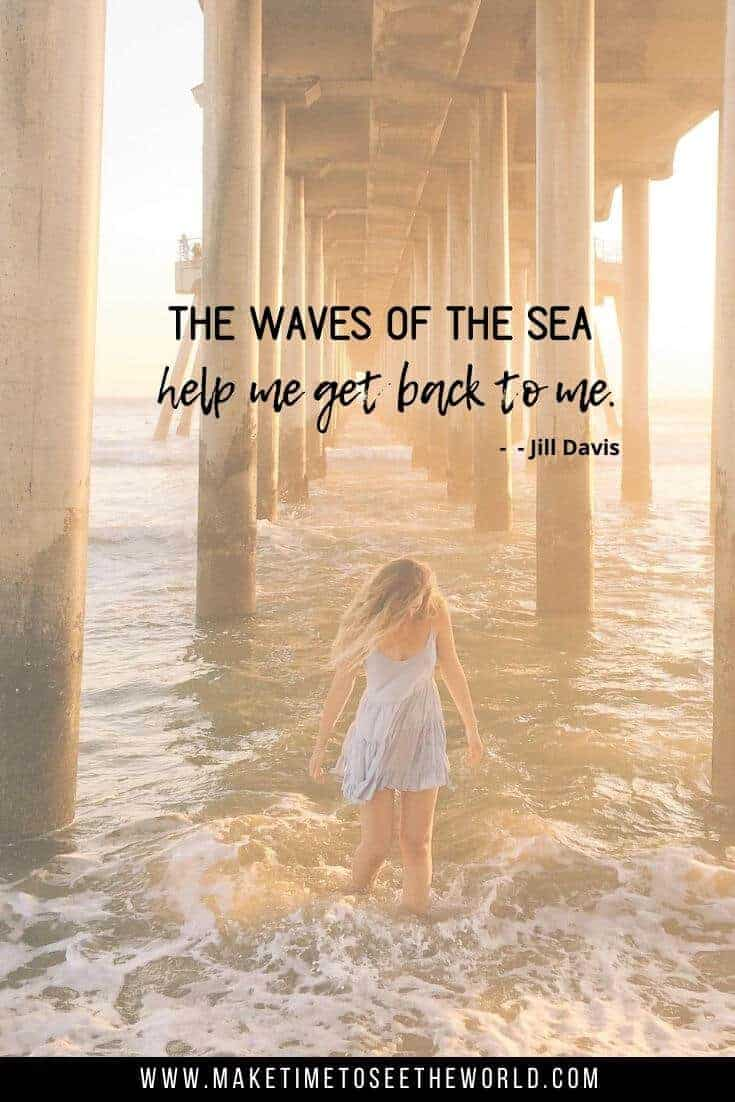 The Waves of the Sea help me get back to me - Jill Davis