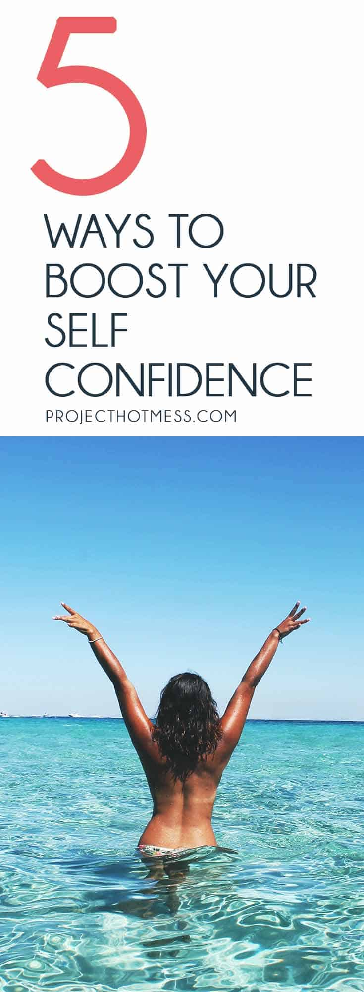 Sometimes all it takes is a few little things to help boost your self confidence and make you feel amazing. Try these 5 things next time you need some help in the self confidence department. You'd be amazed at how effective they are.