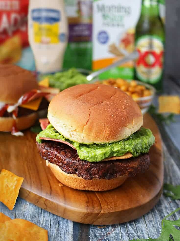 This summer, add a tasty and spicy spin to your backyard burger bar with this nutritious and tasty, Spicy Green Goddess Sauce ~ it is delicious slathered on burgers as well as a dipping sauce for fries