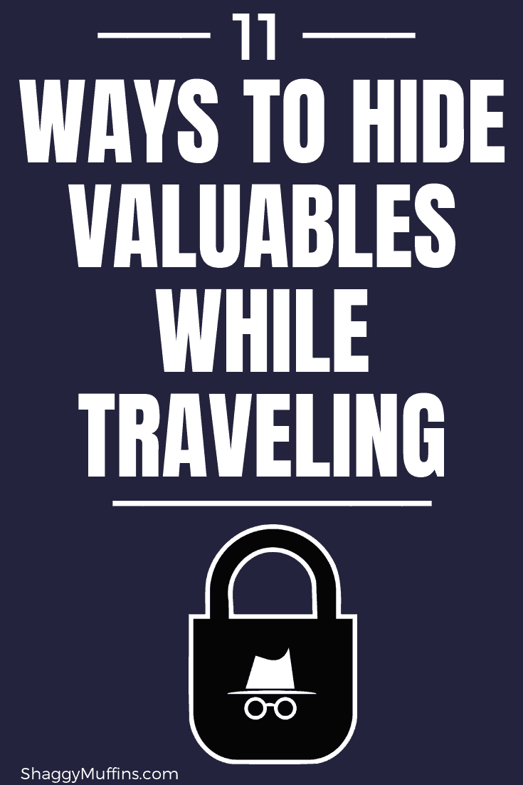 11 Clever ways to hide your valuables while traveling
