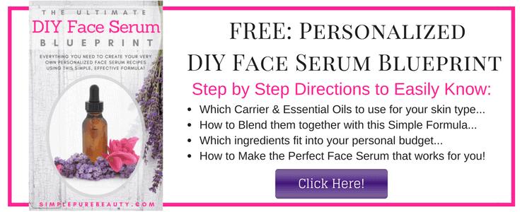 Free Personalized DIY Face Serum Blueprint