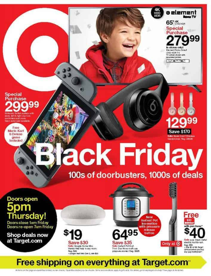 Target Black Friday Ad Preview