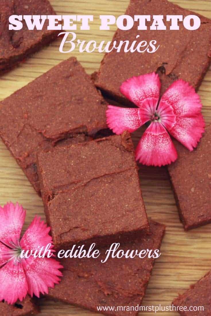 Beautifully sticky sweet potato brownies, vegan and gluten free! https://www.amytreasure.com