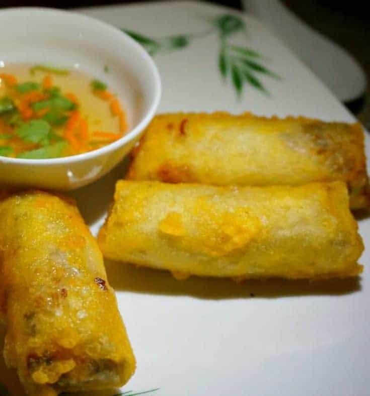 Fried Vietnamese Spring Rolls - Chả Giò