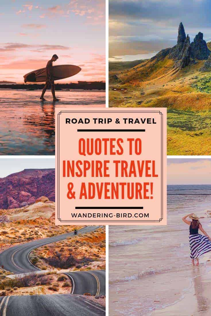 50+ Awesome Travel & Road Trip Quotes to inspire adventures ...