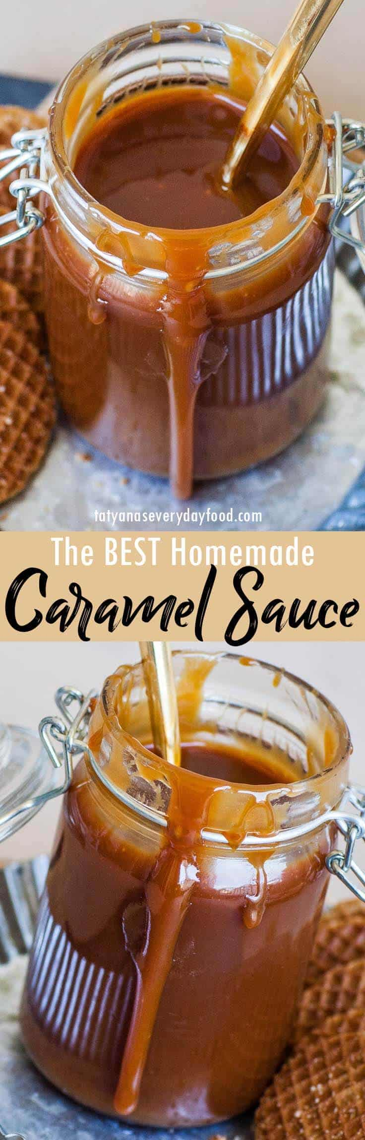 Best Caramel Sauce video recipe