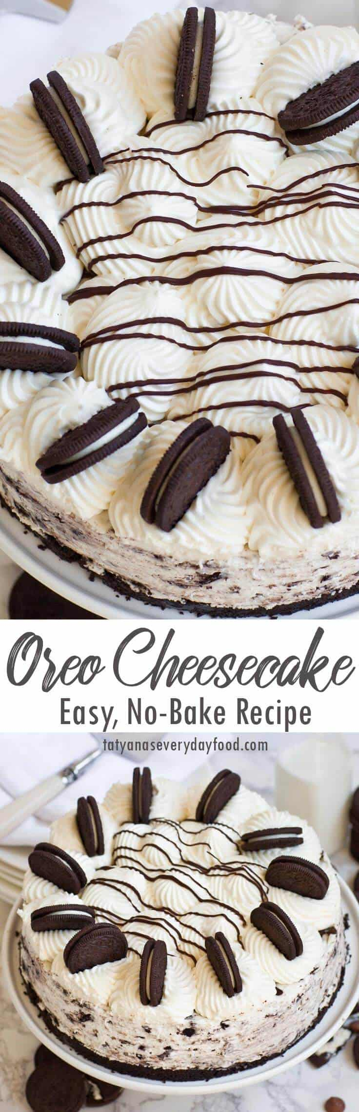 No Bake Oreo Cheesecake video recipe