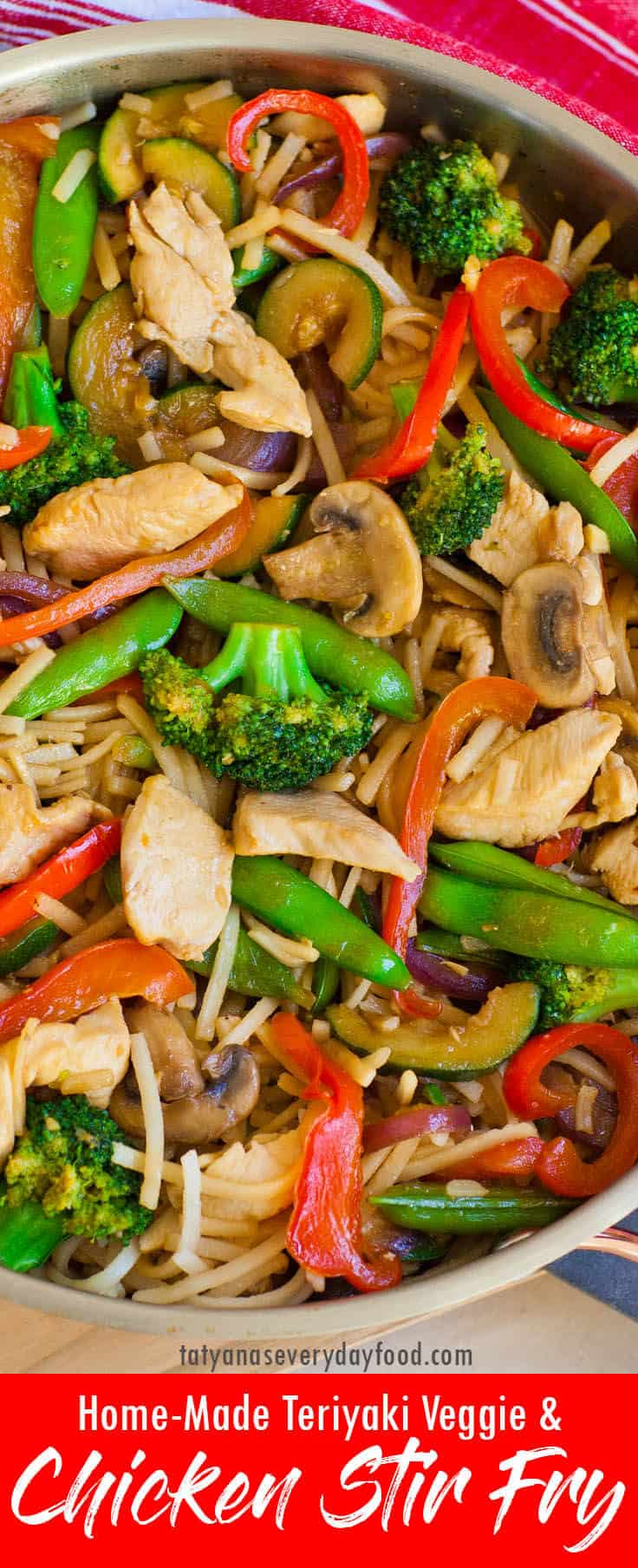 Chicken Teriyaki Stir Fry video recipe