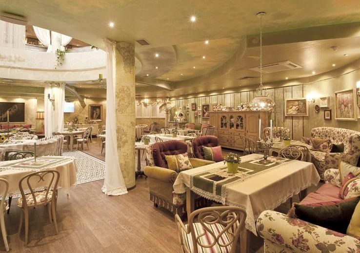 Salón principal del restaurante Shtastlivetsa