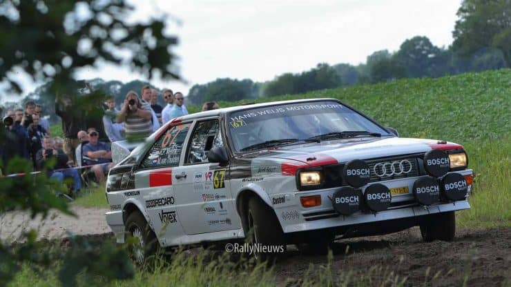 Henk-Peter Meilink & Martin van Thulden - Audi Ur Quattro - Vechtdalt Historic Rally 2019