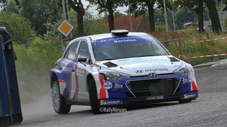 Bob de Jong & Bjorn Degandt - Hyundai i20 R5 - GTC Rally 2019
