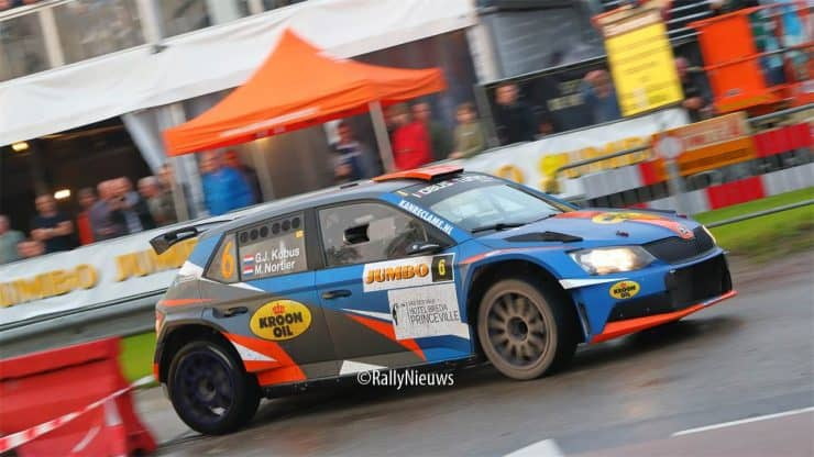 Gert-Jan Kobus & Martin Nortier - Skoda Fabia R5 - GTC Rally 2021