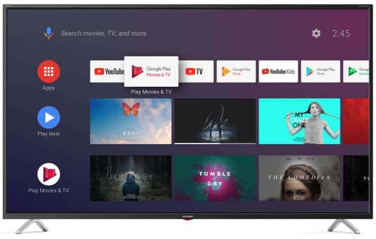 Sharp BL3 Android TV
