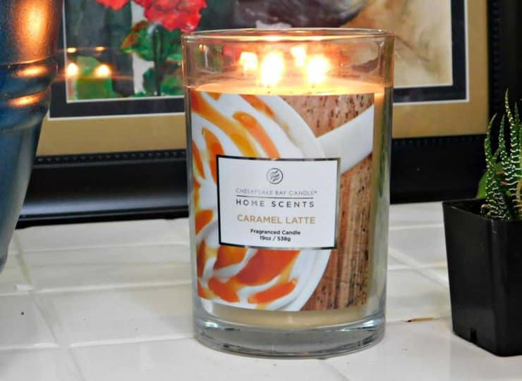 summer entertaining with candles