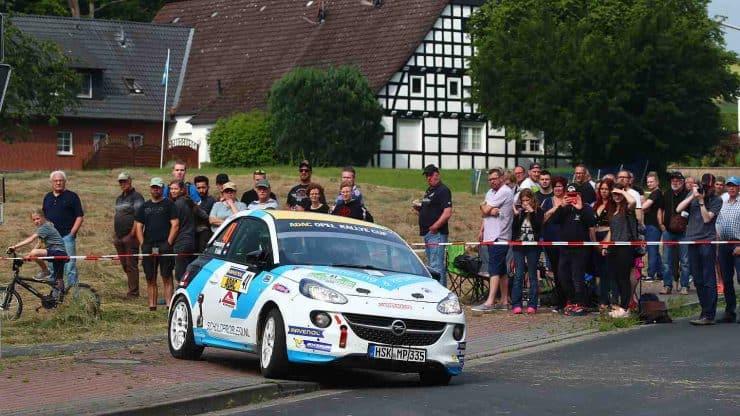 Ernst Kranenburg & Wout de Klerk - Opel Adam - ADAC Rallye Stemweder Berg 2019