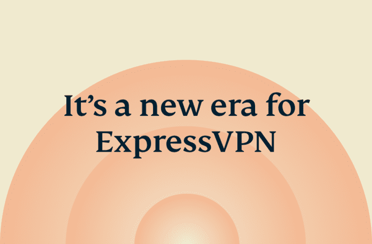 ExpressVPN new era concentric circles.