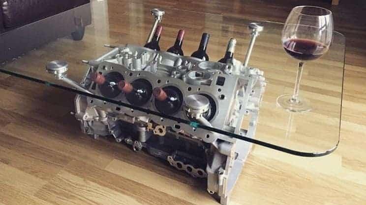 McLaren P1 Engine Table