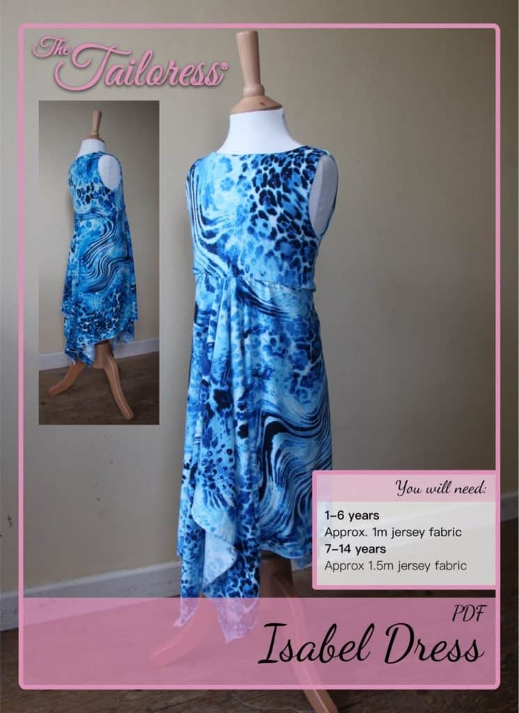 The Tailoress PDF Sewing Patterns - Isabel Handkerchief Dress Tutorial