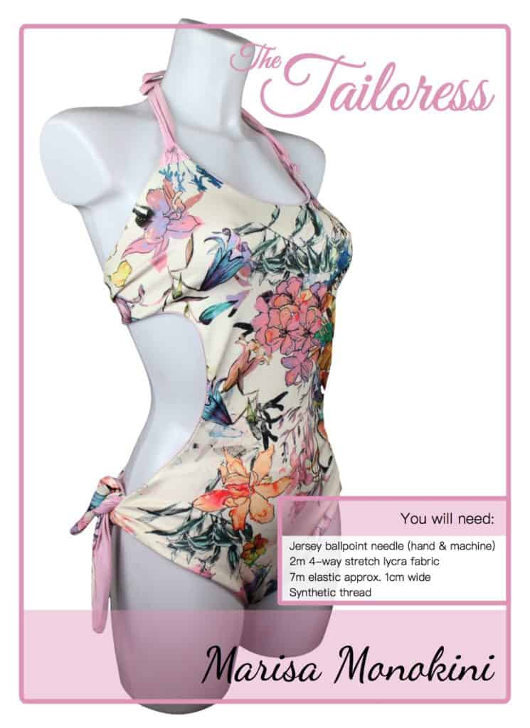 The Tailoress PDF Sewing Patterns - Marisa Monokini Tutorial