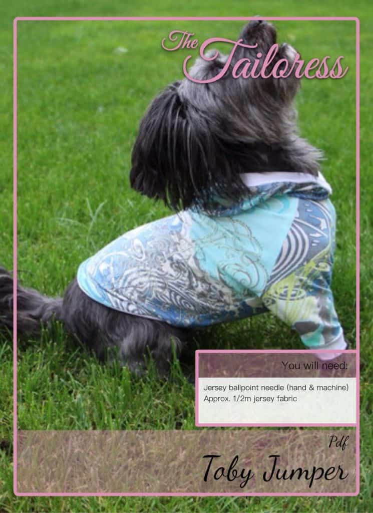 The Tailoress PDF Sewing Patterns - Toby Raglan Sleeve Jumper Tutorial