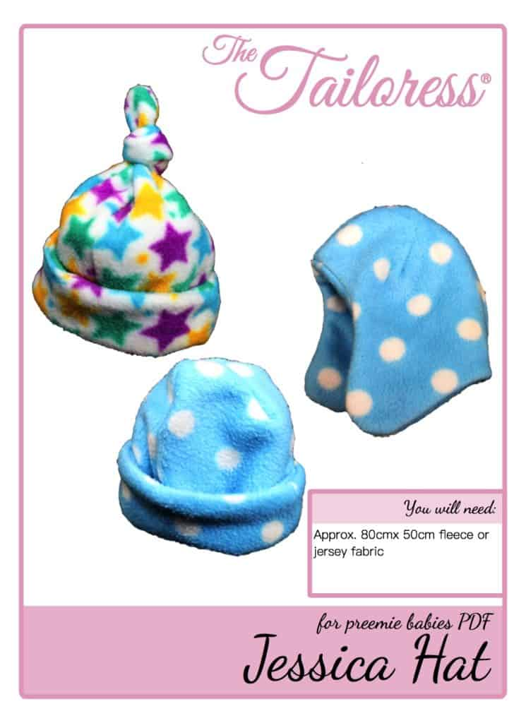The Tailoress PDF Sewing Patterns - Jessica Hood Hat Tutorial