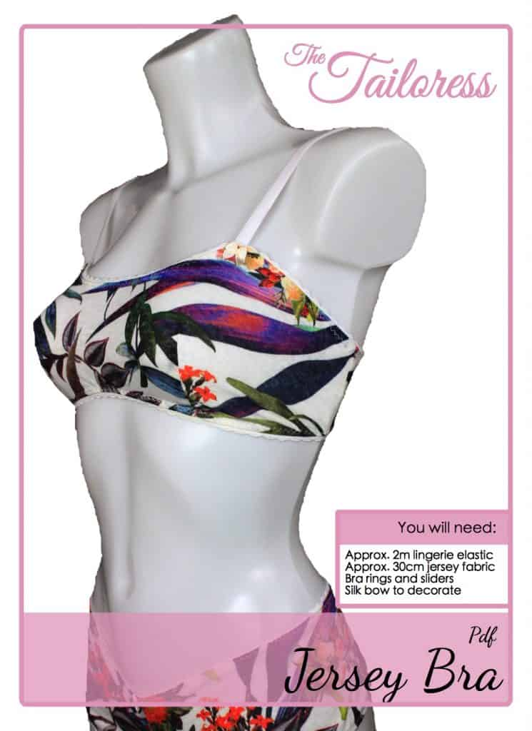 The Tailoress PDF Sewing Patterns - Lingerie Tutorials