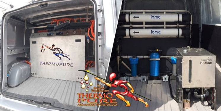 Thermopure HotBox vehicle mounted system