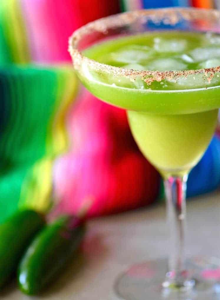 Jalapeno Cucumber Mint Margarita