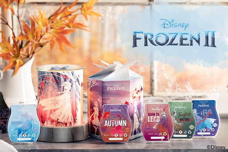 Frozen 2 Scentsy Warmer & Wax Collection