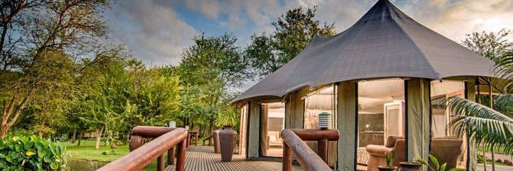 Chisomo Safari Lodge Walkway