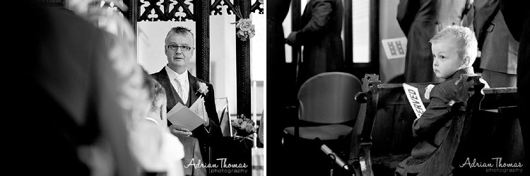 talk at wedding